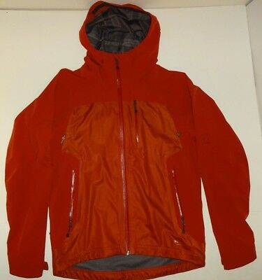 c5bdfc40a REI Elements E1 Hooded Full Zip Outdoor Rain Wind Soft Shell JACKET Men's  Medium