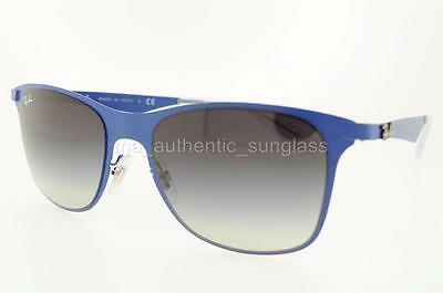 816f6b3a45 RAY-BAN RB 3521 1618G 161 8G 52Mm Blue Frame Gray Gradient Lenses ...