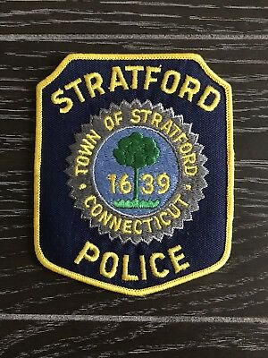 Stratford Ct Connecticut Police Department Officer Patch Current Issue