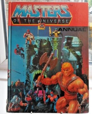 Masters of the Universe annual 1983