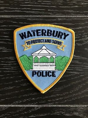 Waterbury Vt Vermont Police Department Officer Patch Current Issue
