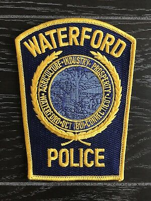 Waterford Ct Connecticut Police Department Officer Patch Current Issue