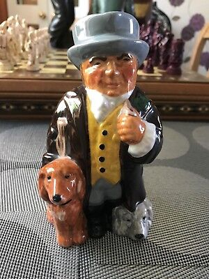 """Roy Kirkham """"THE SQUIRE"""" Staffordshire Toby Character Jug Hand Painted"""