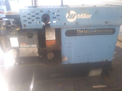 Miller welder generator with trailer, works great! Will deliver locally!