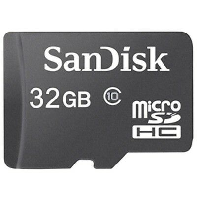 SanDisk 32GB Micro SD Card SDHC Memory Card With Adapter NEW