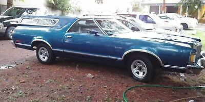 1978 Ford Ranchero 500 1978 Ford Ranchero 500 w/ canopy & front end swap