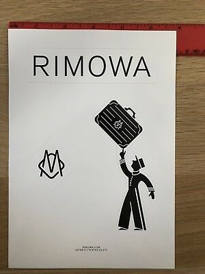 Rimowa Classic Luggage Stickers - Sheet Of 3