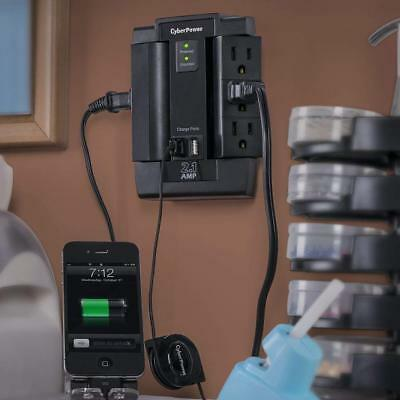8-Outlet UPS Battery Backup Computer Power Supply With 2 USB Charging Ports