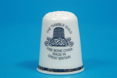 TTG The Thimble Guild Logo China Thimble B/76