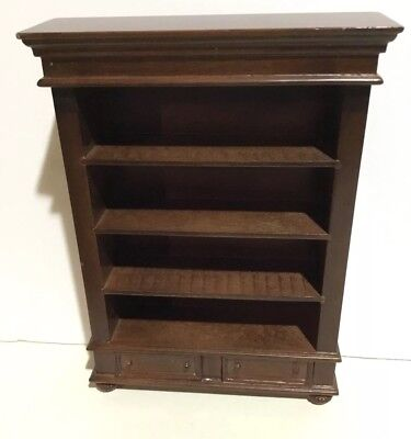 Dollhouse Miniatures Vintage Bespaq Large Bookcase