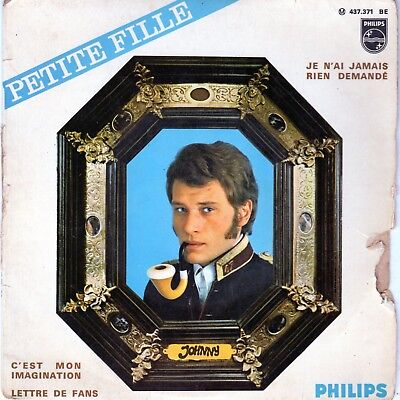 disque de Johnny Hallyday - petite fille - Philips 437.371 BE - 1967 -