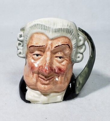 Vintage Royal Doulton The Lawyer Character Toby Jug D6524
