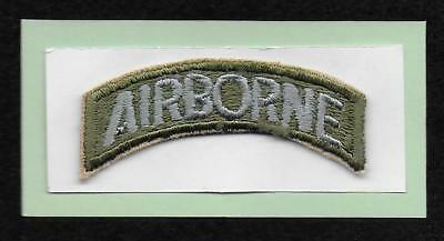 80th Airborne Division (AIRBORNE) Tab, used from 7/1946 to 5/1952 AR-VA