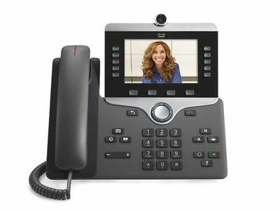 NEW Cisco IP 8845 VoIP SIP LCD Display Video Phone (CP-8845-K9=)