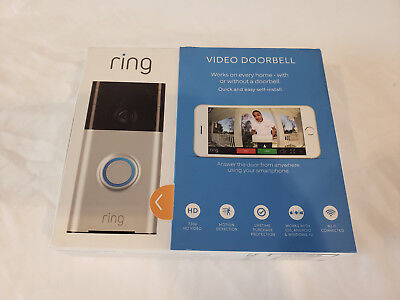 Ring WiFi Enabled Smart Video Doorbell - NEW SEALED