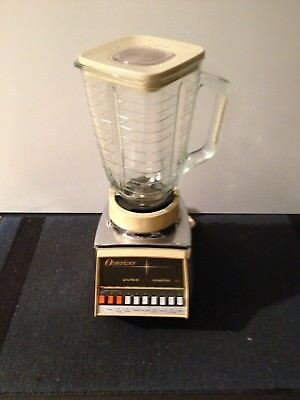 Osterizer pulse matic 10 Mixer Chrom Bar Diner Usa vintage