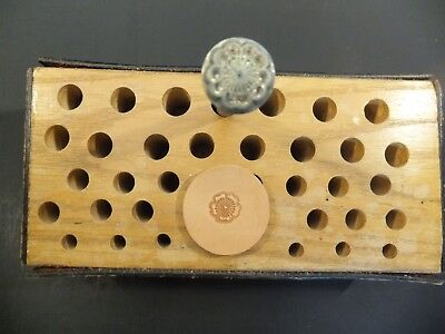 Vintage Leather BASIC TOOL USA Stamp #38