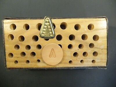 Vintage Leather BASIC TOOL USA Stamp #55