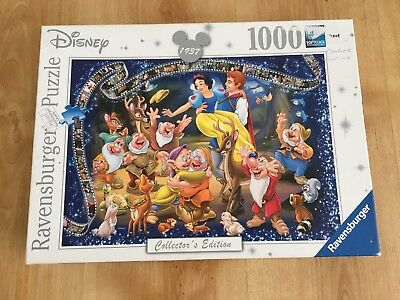 19674 Ravensburger Snow White Collector/'s Edition Jigsaw 1000pc Adult Puzzle
