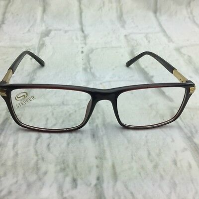 NEW Stepper S16039 Brown 53-16-138 Eyeglass Frames Made in Germany