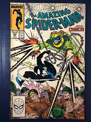 Amazing Spider-Man #299 first Venom cameo appearance! Todd McFarlane 1st print