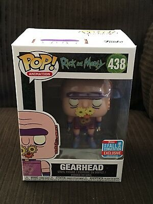 FUNKO POP Rick & Morty Gearhead NYCC 2018 Fall Convention Exclusive