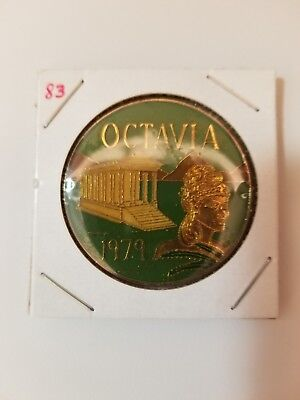 1983 Krewe of Octavia Multi Color Doubloon