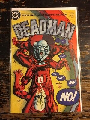DEADMAN #1 Neal Adams Art (DC 1985) Combine Shipping Discount