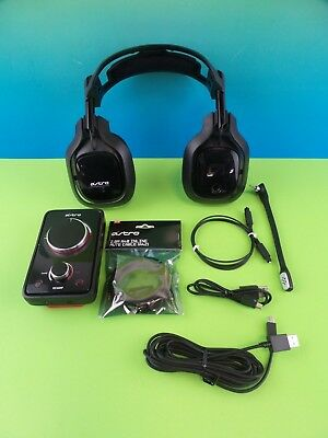 Astro A40 MixAmp Edition Black Headband Headset for Multi-Platform #mau7
