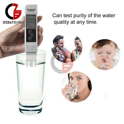 Multifunctional 3 In 1 TDS EC PPM Water Quality LCD Display Meter Tester Pen