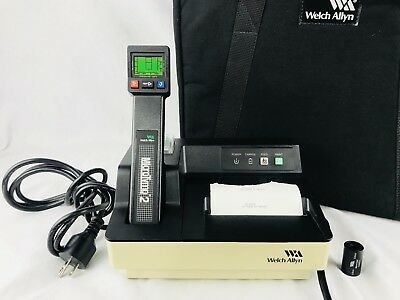 Welch Allyn MicroTymp 2 Tympanometer 23640 Micro Tymp Printer Charger 71170