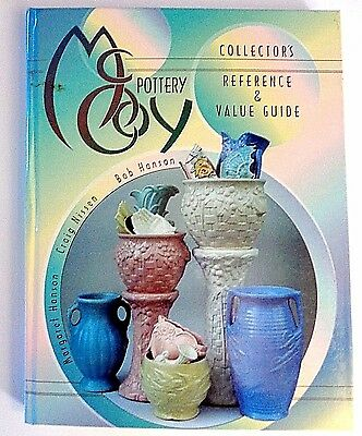 McCoy Pottery Collectors Reference and Value Guide  Nissen & Hanson LN 320 pg HC