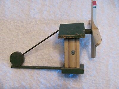 Vintage Wooden Windmill/Whirly Gigg/Weathervanes.