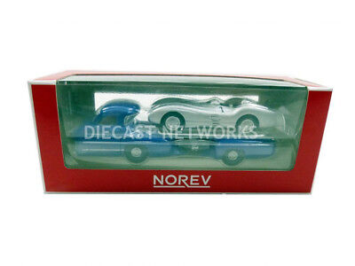 Norev - 1/64 - Mercedes - Benz Renntransporter + W196 - 1954 - 311000