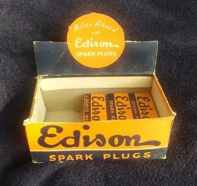 Edison Albanite Insulated Spark Plug #44