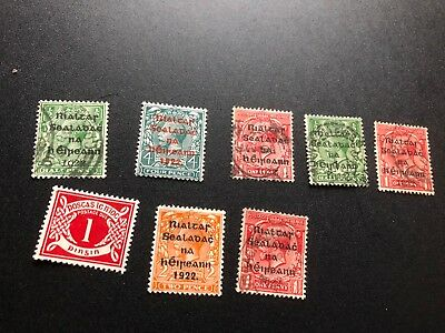 ireland good stamps used and mhog collection n1261