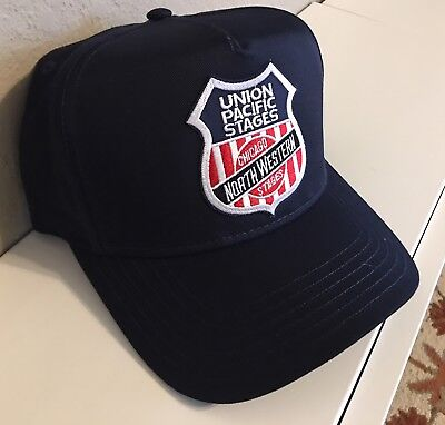 Cap / Hat - UNION PACIFIC / CHICAGO NORTHWESTERN STAGES (UP CNW) #2106 - NEW