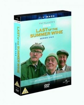 Last of the Summer Wine - Series 3 & 4 DVD New & Sealed 5050582266917