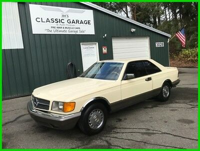 1983 Mercedes-Benz 300-Series 2 Dr 1983 2 Dr Used 3.8L V8 16V Automatic RWD Coupe