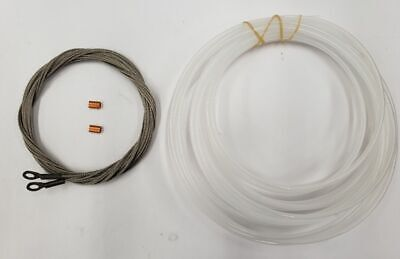 KAYAK RUDDER CABLE Replacement Kit  Cables, Tubing and Swages
