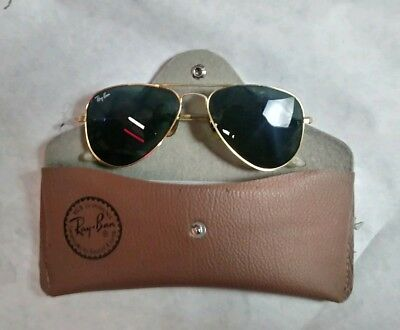 Vintage Ray-Ban Aviator Outdoorsman Sunglasses Very Good Condition With Case