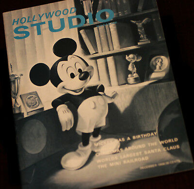 "Mickey Mouse 1968 / 40th Birthday Walt Disney Prod ""Hollywood Studio"" Magazine"