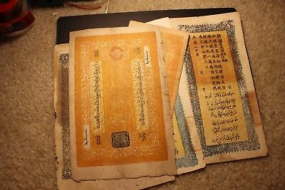 Rare collection of China Tibet Sinkiang local paper money banknotes