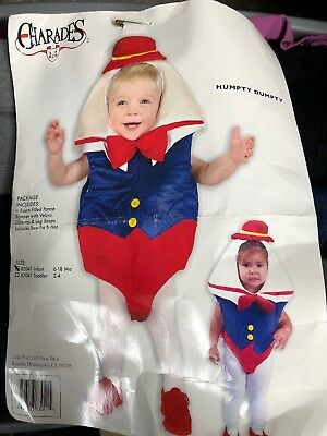 Humpty Dumpty Halloween Costume Infant Baby Egg JaC Costumes Charades 6 To 18 Mo