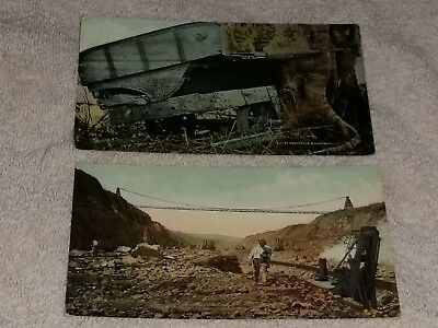 Pair of Unposted Panama Canal Postcards