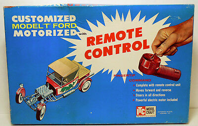 Vintage 1961 ITC Ideal Customizing Model T Ford with Remote Control Kit