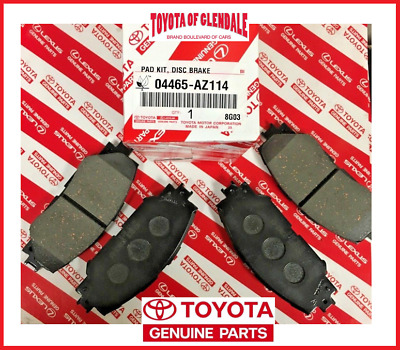 2008-2019 Toyota Corolla Front Brake Pads Genuine Oem New 04465-Az114