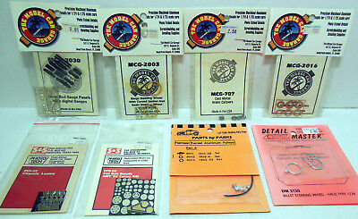 Lot of 8 Photo-Etched Detail Parts Packs Sealed MCG +++