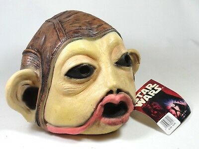 Don Post Star Wars Nien Nunb Mask 1996 With Tag Unused Halloween Rubber Numb