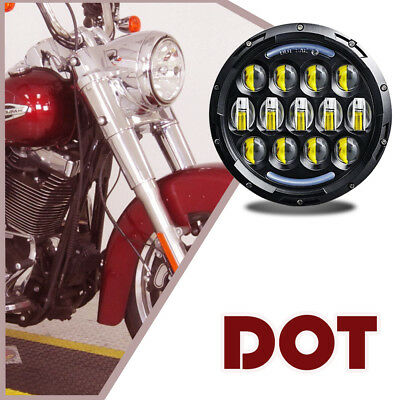 Daymaker fit Harley Davidson Touring Street Glide Softail Dyna TD5 LED Headlight